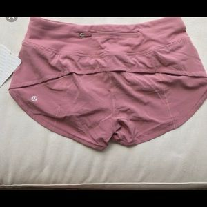 Pink Speed Up Shorts